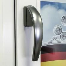 Дизайнерская оконная ручка Roto Swing цвет: титан